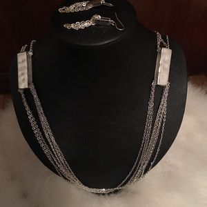 Francesca's necklace and earrings
